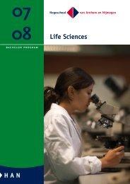 Life Sciences - Studieren in Holland