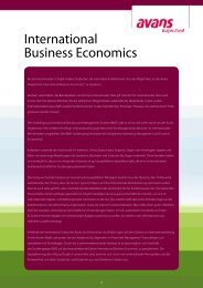 International Business Economics - Studieren in Holland