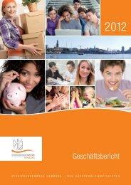 Geschäftsbericht 2012 - Studierendenwerk Hamburg