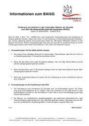 Info-Blatt zu § 5 Abs. 2 Satz 1 Nr. 1 BAföG _Schüler