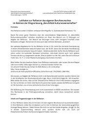 Reflexionsleitfaden - StudiGer - TU Dortmund