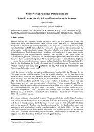 Schriftverkehr auf der Datenautobahn: - StudiGer