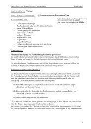 Station Tatort: (1) Spurensicherung/Fingerabdrücke Jana ... - StudiGer