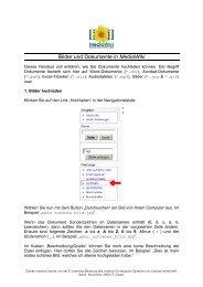 Bilder und Dokumente in MediaWiki - StudiGer