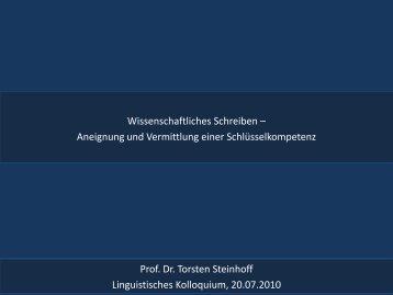Steinhoff Wissenschaftliches Schreiben 2010.pdf - StudiGer