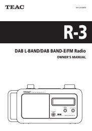 DAB L-BAND/DAB BAND-#/FM Radio - Studio 22