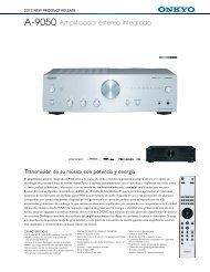 A-9050 Amplificador estéreo integrado - Supersonido