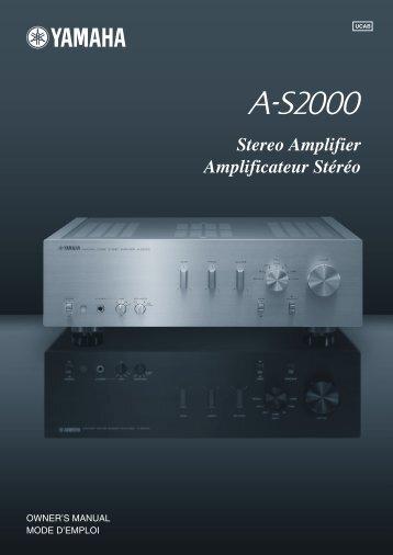 Stereo Amplifier Amplificateur Stéréo - Studio 22