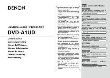 DVD-A1UD - Studio 22