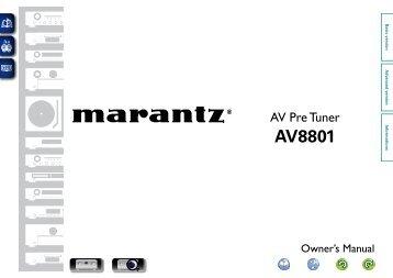 AV8801 - Marantz