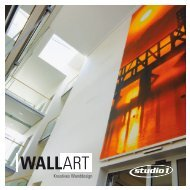 Kreatives Wanddesign - Studio1 Kommunikation GmbH