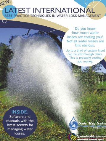 water loss manuals - StudioMarcoFantozzi.it