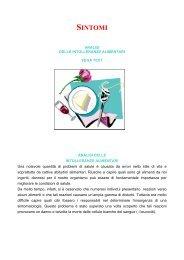 Analisi delle intolleranze alimentari - Studio Medicina Naturale