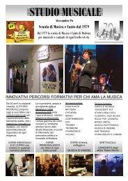 Scuola di Musica e Canto dal 1979 Alessandro Po 30