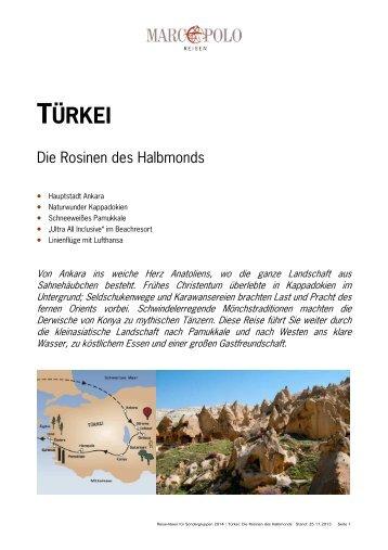 TÜRKEI - Studiosus Reisen München GmbH