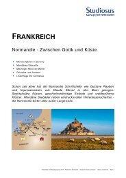 Frankreich / Normandie - Studiosus Reisen München GmbH