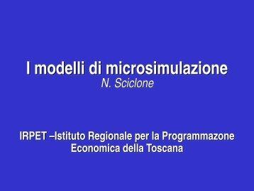 Il modello di microsimulazione multiregionale dell ... - Studi sullo Stato