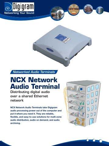 NCX Network Audio Terminal - Radikal