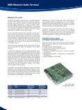 NCX Network Audio Terminal - Radikal - Page 2