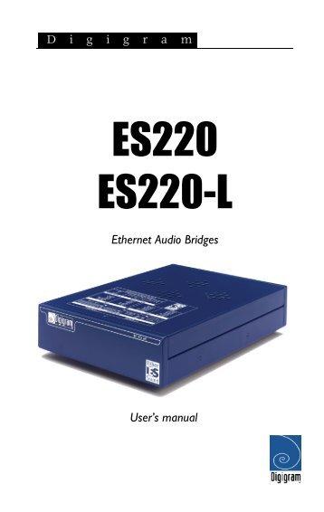 ES220 & ES220-L - Digigram