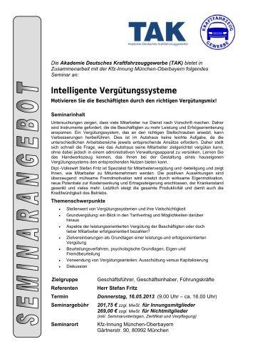 Intelligente Vergütungssysteme - Studium-kfz-ausbildung.de