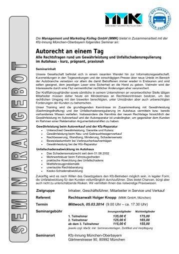 Autorecht an einem Tag - Studium-kfz-ausbildung.de