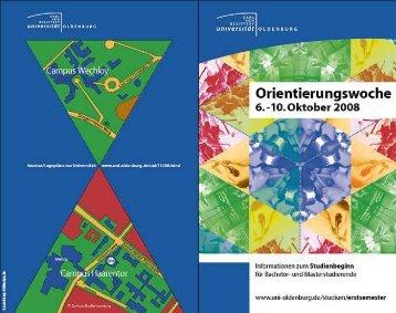 Untitled - Studium - Universität Oldenburg