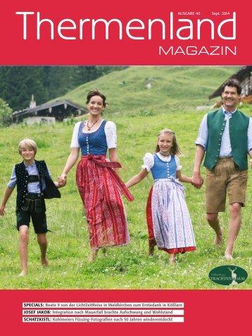 Thermenland Magazin No 40