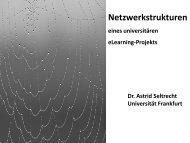 Netzwerkstrukturen - studiumdigitale