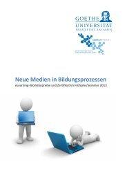 Programm (PDF) - studiumdigitale - Goethe-Universität
