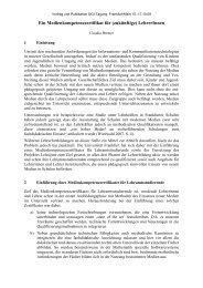 Ein Medienkompetenzzertifikat für (zukünftige ... - Claudia Bremer