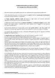 Norme redazionali - Società di Studi Valdesi