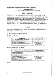 Zulassungszahlenverordnung Sommersemester 2013 (PDF)