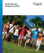 Study Abroad Prospectus 2013 - James Cook University