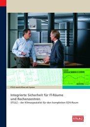 Integrierte Sicherheit für IT-Räume und Rechenzentren - Stulz