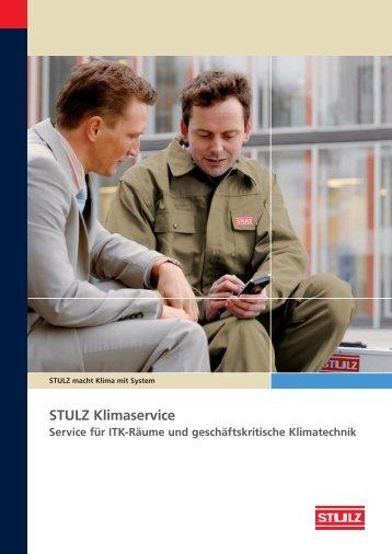 Prospekt Klimaservice - Stulz GmbH