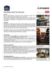 Hotel Föhrenhof Referenz - Stulz GmbH