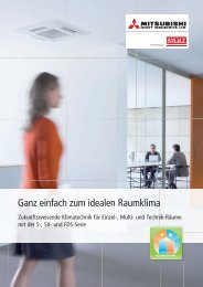 Prospekt Inverter-Raumklimageräte FDS-,SX-,S-Serie - Stulz GmbH