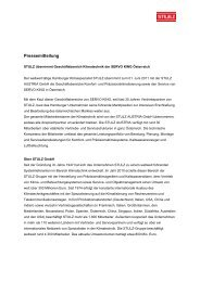 Pressemeldung (19,05 KB) - Stulz GmbH