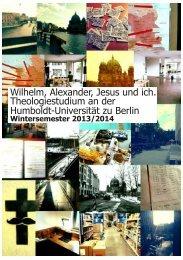 Die Erstizeitung im WiSe 13/14 - StuRa Berlin