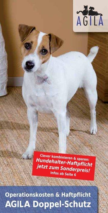 Antrag auf eine Hundekrankenversicherung OP Kostenschutz bei der