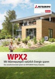 Prospekt Wärmepumpe WPX2 - Stulz GmbH