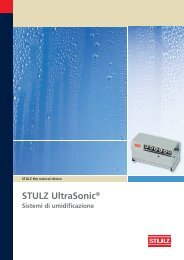 STULZ UltraSonic® Sistemi di umidificazione - Stulz GmbH