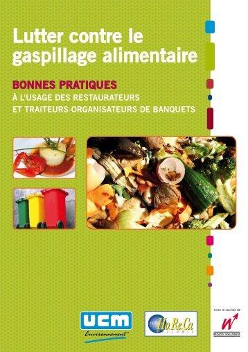 Lutter contre le gaspillage alimentaire - Fédération Horeca Wallonie