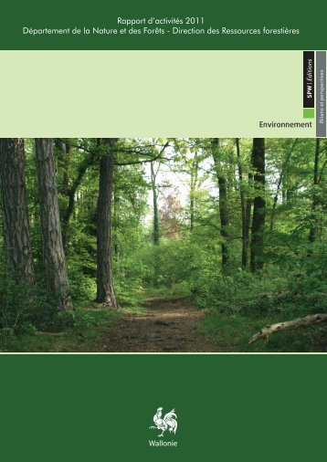 Rapport d'activité 2011 - Portail environnement de Wallonie