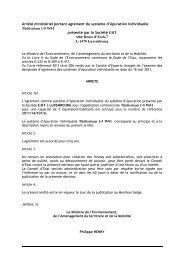 Thétisclean 1-5 W01 - Portail environnement de Wallonie