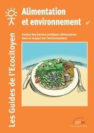 Alimentation et Environnement (Guide de l'Ecocitoyen) - Portail ...
