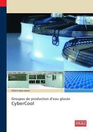 Groupes de production d'eau glacée CyberCool - Stulz GmbH