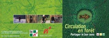 Circulation en forêt - Portail environnement de Wallonie