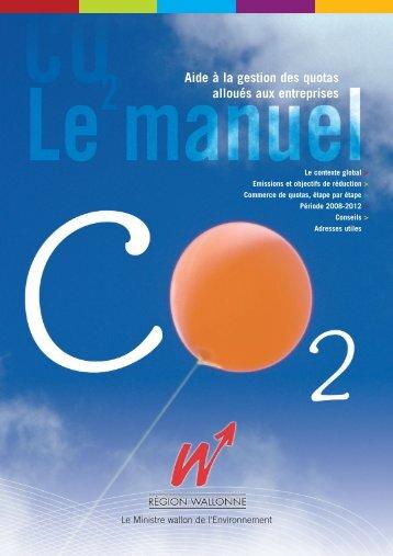 Manuel CO2 - Portail environnement de Wallonie